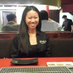 Christina Kwan at Korean BBQ