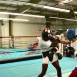 Christina Kwan - Champion Boxer Sparring