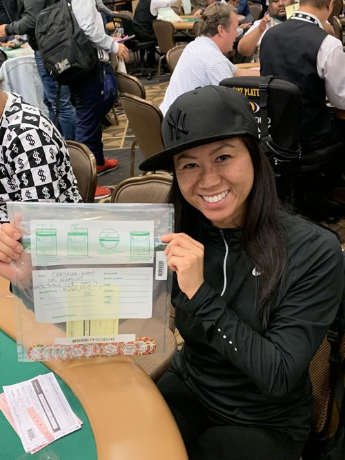 Christina Kwan World Series of Poker